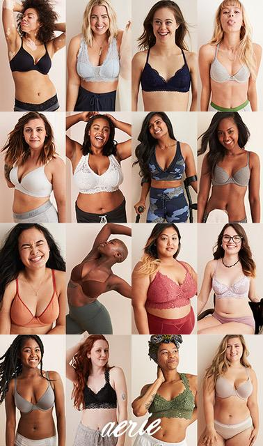 Aeo Says Body Positivity Pays Pushes Into Bras 08 07 2018