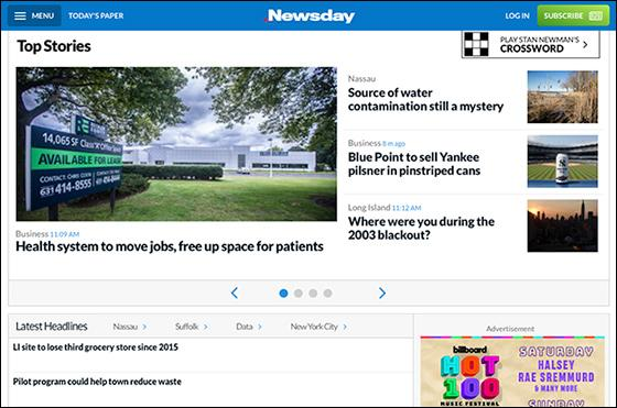 Optimum Parent Sells 'Newsday,' Cable Subscribers Lose Free