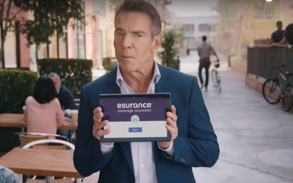 Highly Likeable' Quaid Stars In First TV Spot For Esurance