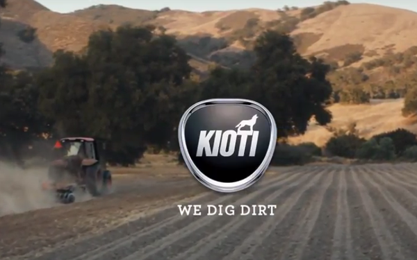 KIOTI Tractor Equates Dirt With Hard Work To Target Farmers 08/20/2018
