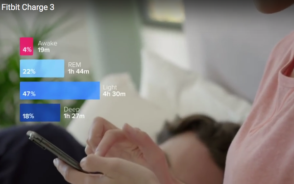 Fitbit Touts New 'Sleep Score' Tracker, Unveils Inexpensive 'Charge