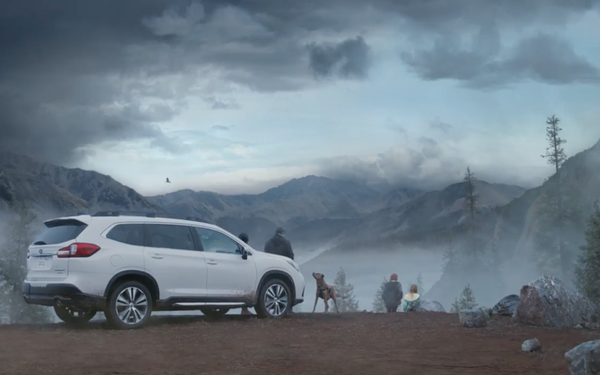 ff0e9945cccca Subaru Partners With Amazon To Highlight Large SUV 09/11/2018