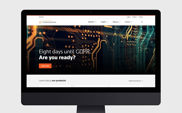d141e57d8 Huge created a new global design system, platform and content strategy with  one goal: to present Thomson ...