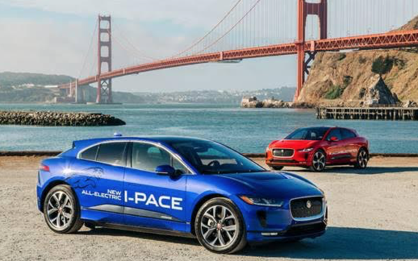Jaguar North America Is Taking Its First All Electric Performance SUV, The  2019 I Pace, On The Road.