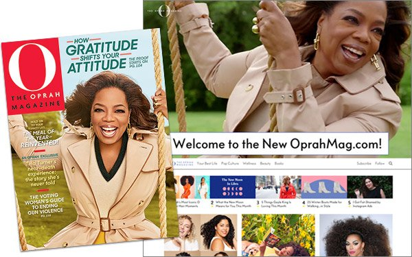 64a13d23 Hearst Launches Oprahmag.com, Combines Print Mag With Digital Extras ...