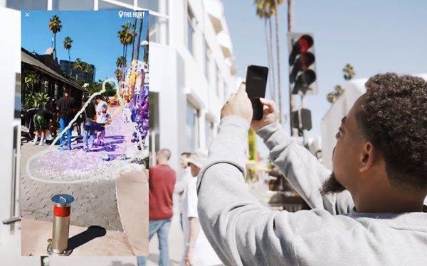 Foot Locker, Nike Launch AR Scavenger Hunt 10/29/2018