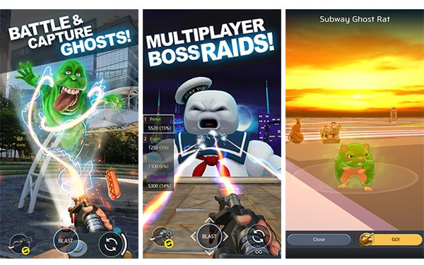 Halloween Games 2018.Sony Intros Ghostbusters Ar Game For Halloween 10 29 2018