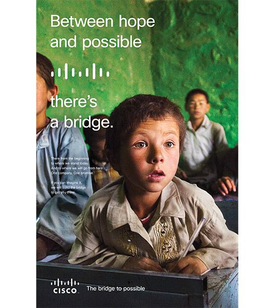 Cisco's New Campaign Seeks To 'Bridge The Possible'