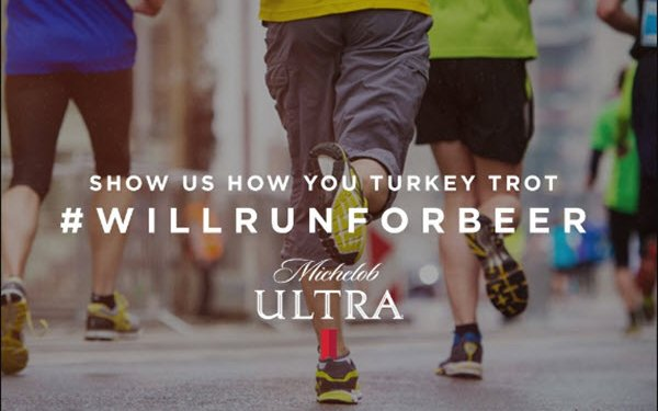 Michelob Ultra To Reward Turkey Trotters With Free Beer