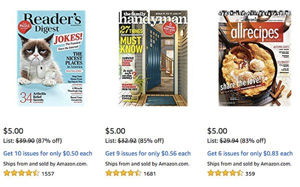 Magazines Newspapers Push Cyber Monday Subscription Deals 11 27 2018