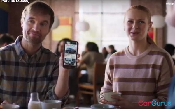 Cargurus Couple Become Brand Evangelists In Latest Ad Version 12