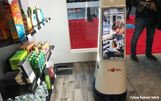 NRF 2019: Robots Roaming The Aisles Of Retail