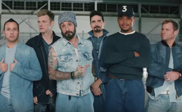 Doritos Adds Back Street Boys To Chance The Rapper Super Bowl Spot