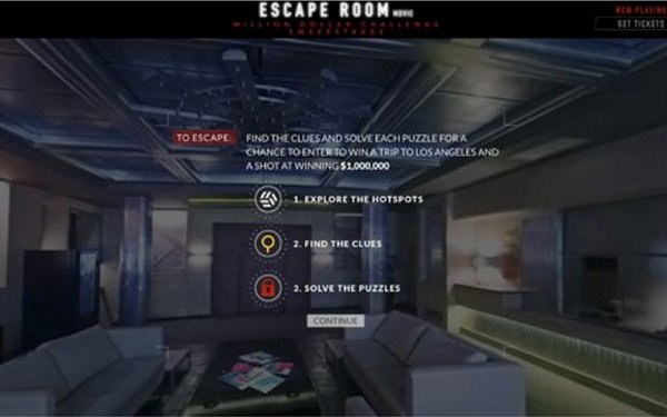 Sony Taps 360-Degree VR For 'Escape Room' Ad