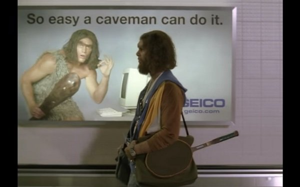 Image result for geico caveman