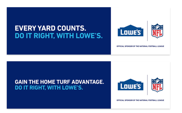 Lowe's Signs On To NFL, Hyundai Decides Not To Renew