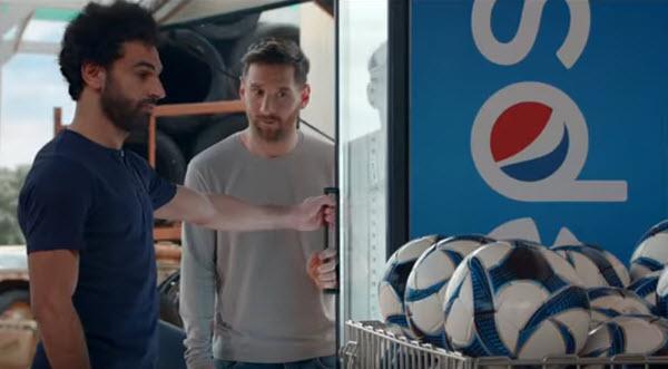 Pepsi's 2019 UEFA Campaign Features Messi, Salah 02/14/2019