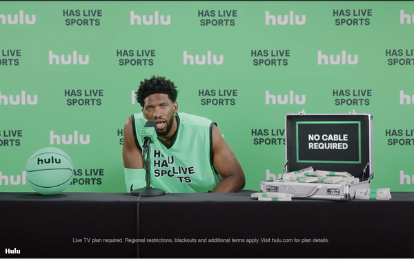 Hulu Launches Sports-Focused Marketing Campaign