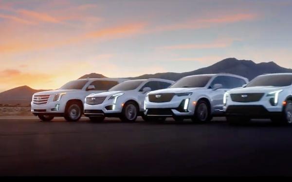 Cadillac Showcases SUV Portfolio In 'Rise Above' At Oscars