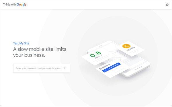 Google Updates Test My Site Speed Tool 02/26/2019