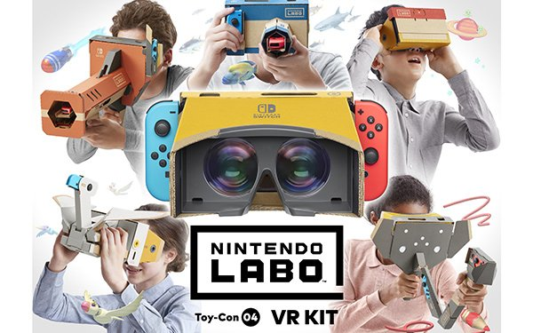 Nintendo Intros VR Kit For Switch System
