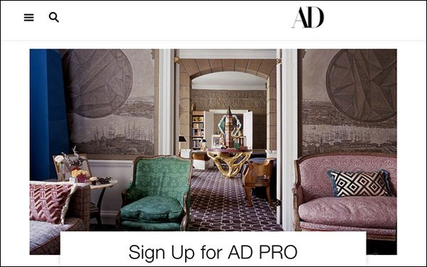 'Architectural Digest' To Launch B2B Platform 'AD Pro'