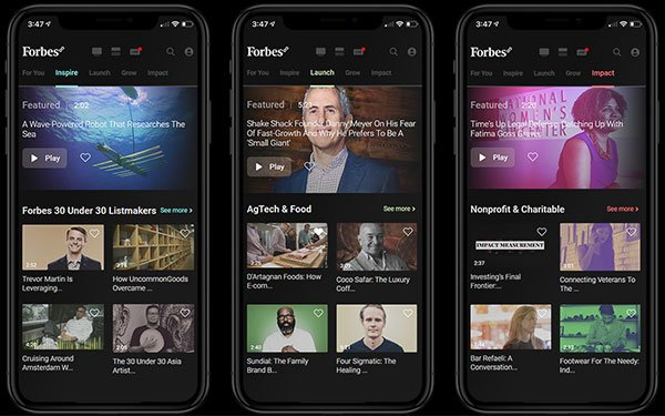 Mediagazer: Forbes launches Forbes8, a streaming service