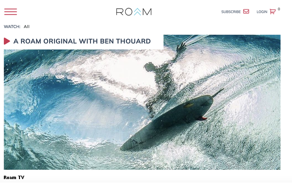 Roam Launches Roam TV Streaming Video Channel 03/26/2019