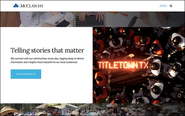 Google Pushes Local News Project, McClatchy Is First Partner