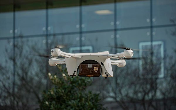 UPS, Drone Maker Kick Off US Commercial Flights in North Carolina