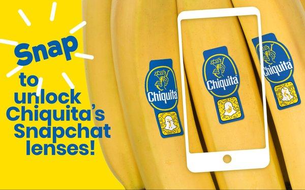 Chiquita Snapchat Campaign Taps 200 Million Bananas 03/28/2019