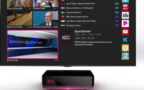T-Mobile's New TVVision Home Takes On Cable, Satellite