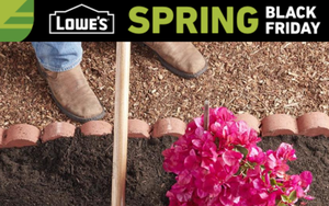 Mulch Madness: Lowe's, Home Depot Kick Off Spring Black