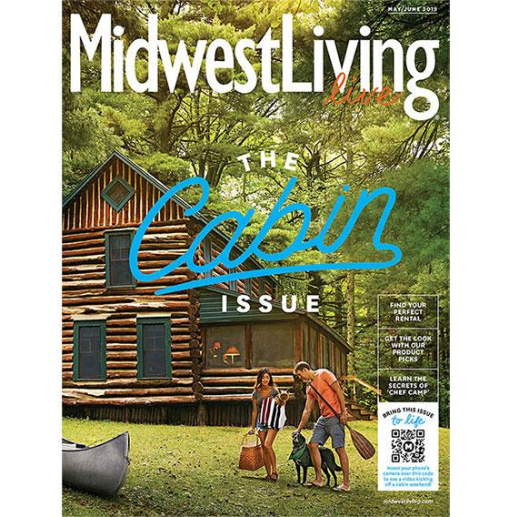 'Midwest Living' Launches Live 'Cabin Living' Issue