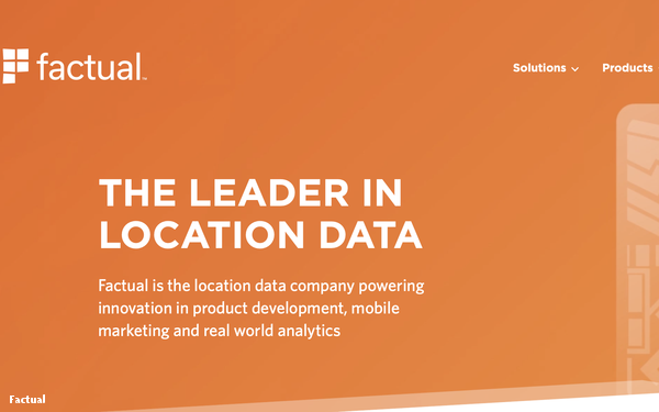 Factual Launches Location-Based Measurement Intelligence Solution