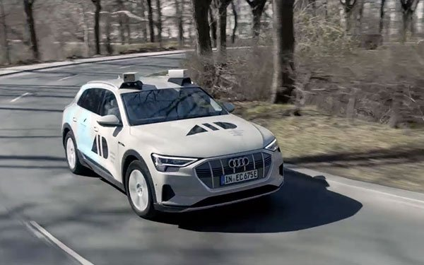 Audi Group Partners For Advances Sensors On Autonomous Cars