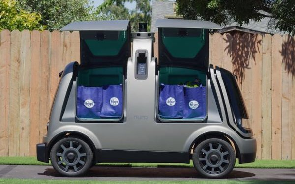 Kroger Starts Grocery Deliveries In Self-Driving Vehicles