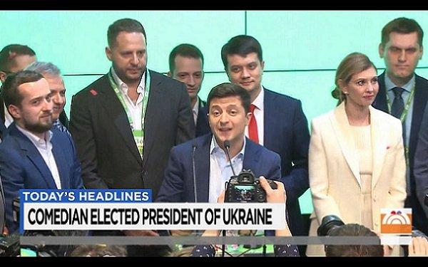 Seinfeld For President? Ukraine Elects TV Comedian
