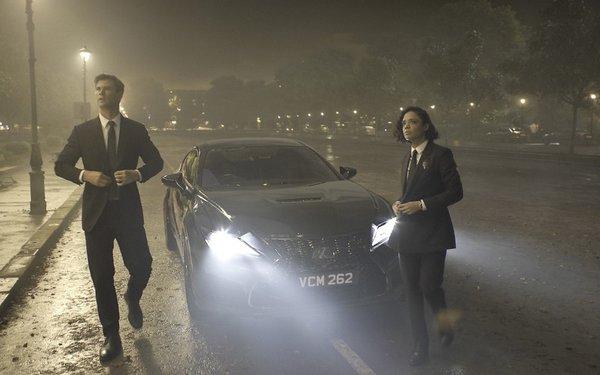 Lexus Official Vehicle Of 'Men In Black'