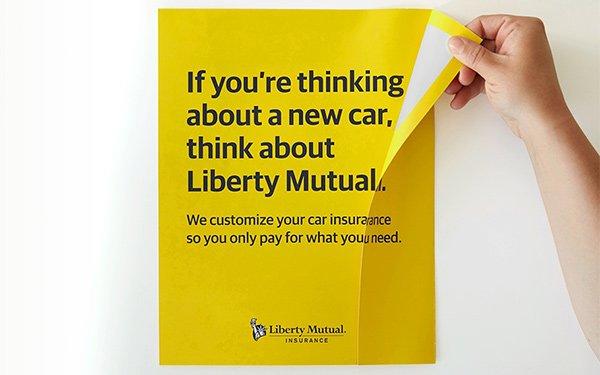 Liberty Mutual Auto >> Liberty Mutual Debuts New Car Smell Print Ads 05 07 2019