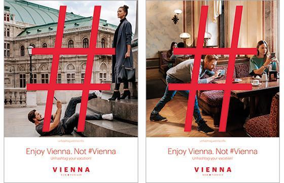 "Vienna Tourist Board's ""Unhashtag Vienna"" Campaign Challenges Visitors To Explore Offline"