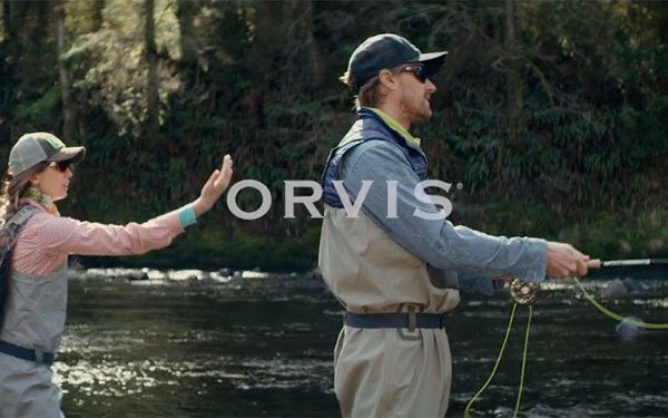 New Orvis Campaign Includes Brand's First TV Spots