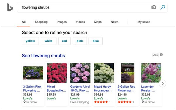 Microsoft Experiments With Shopping, Will Launch More Product Ads In Image Search