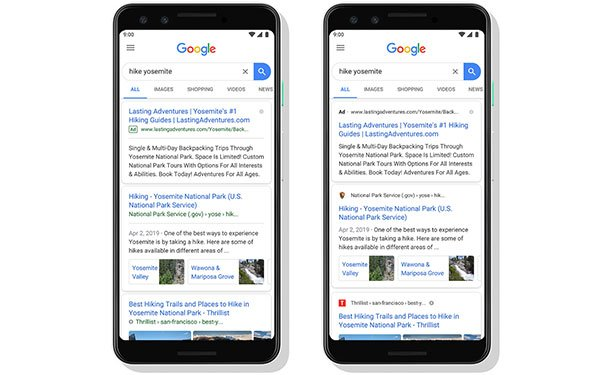 Google Introduces A New Look For Mobile Search