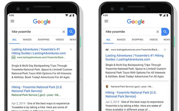 Google Introduces A New Look For Mobile Search 05/22/2019