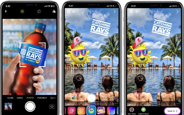 Pepsi Unleashes Hundreds Of Instagram AR Filters For Summer