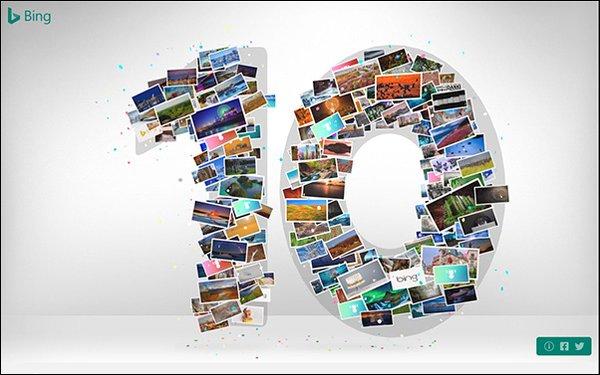 Bing Birthday 10 | Online Marketing Nieuws | Succesfactor.nu
