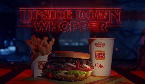 Upside-Down Whopper? BK, Coke, Netflix Team On 'Stranger Things' Promos