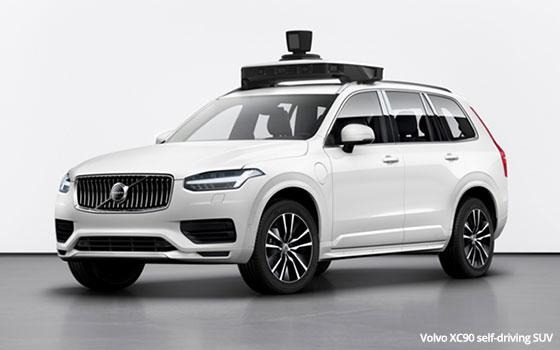 Uber Approved Cars >> Volvo Uber Unveil Next Generation Self Driving Car 06 12 2019