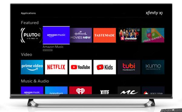 Comcast Adds Amazon Music To Xfinity X1, Flex 06/21/2019